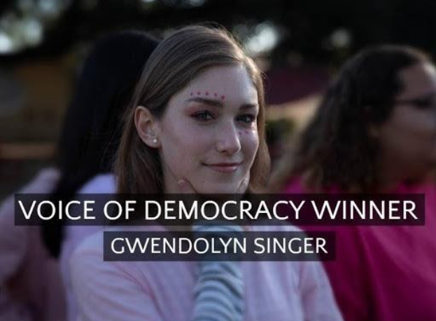 Voice of Democracy Winner!