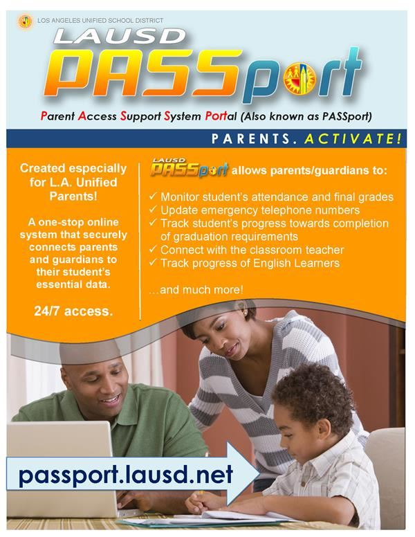Parent Access Support System Portal (Also known as PASSport)